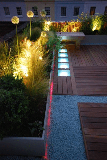 Ceiling Garden Lighting Design