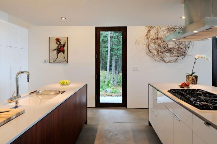 Dise o de casa de campo econ mica y moderna construcci n - Cocinas de casa de campo ...