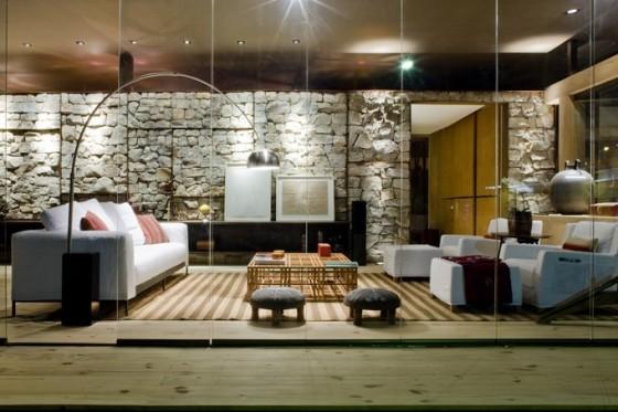 Diseño de sala de casa pequeña