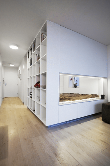 Dise o domitorio de peque o apartamento construye hogar - Construye hogar ...