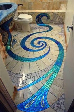 Diseños de cuartos de baño originales con creativos modelos ...