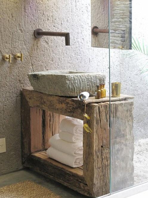 Dise os de cuartos de ba o originales con creativos - Muebles bano originales ...