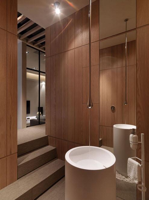 Baño De Tina Natural:Diseños de cuartos de baño originales que nos darán ideas para