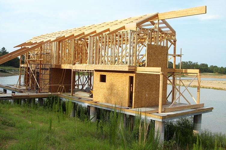 Casas prefabricadas madera construccion casa de madera - Construir altillo madera ...