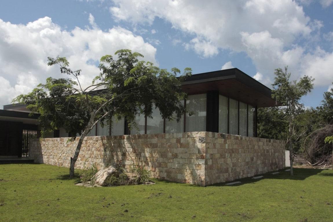 Dise o de casa en forma de l moderna fachada e interiores construye hogar - Fotos de casas en forma de l ...