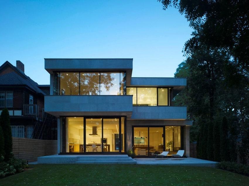 Fachadas de casas modernas imagui Fachadas para casas de dos plantas