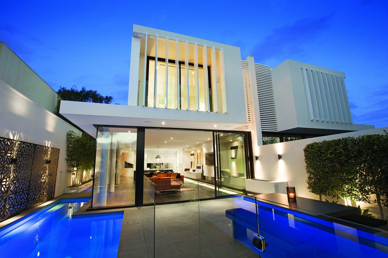 Planos dos casas en una dividir casa en dos partes for Modelo de casa con terraza