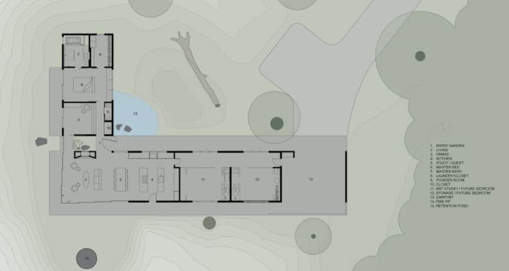 Dise o de casa de campo econ mica y moderna construcci n - Fotos de casas en forma de l ...