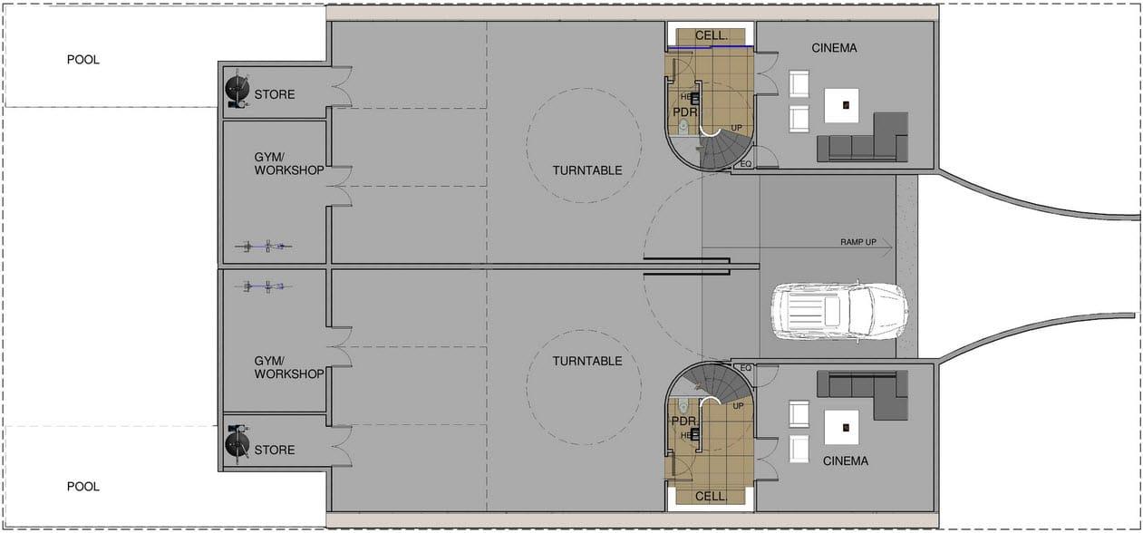Planos dos casas en una dividir casa en dos partes for Diseno de planos de construccion