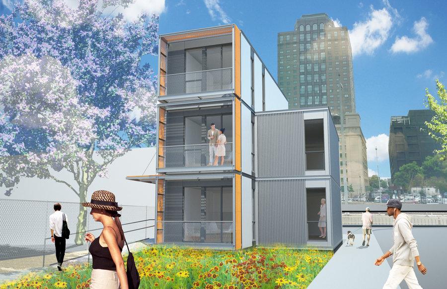 beautiful diseo de casa modular de varias plantas with viviendas modulares de diseo