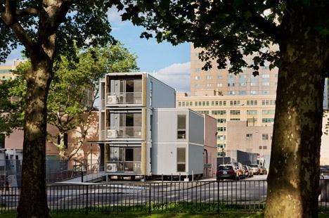 Diseño de casa modular que armoniza con el entorno de la ciudad
