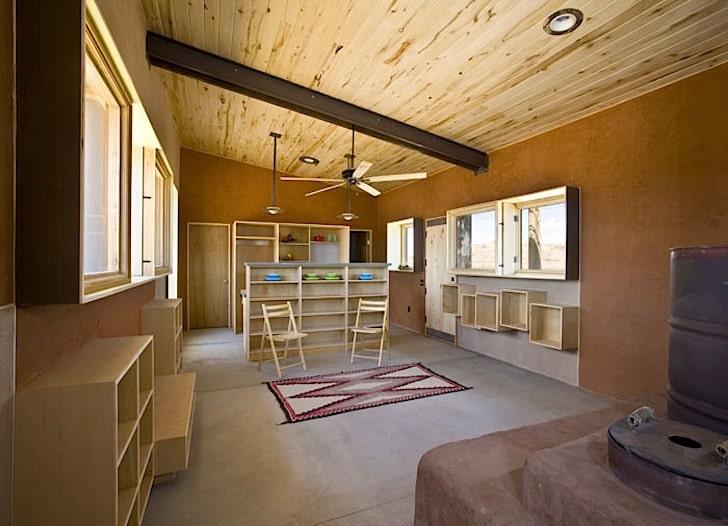 Diseo De Casa Pequea Reciclada Materiales Construccin