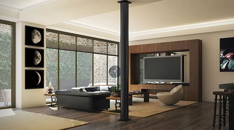 Dise o de interiores de apartamento de lujo construye hogar for Diseno de interiores modernos fotos