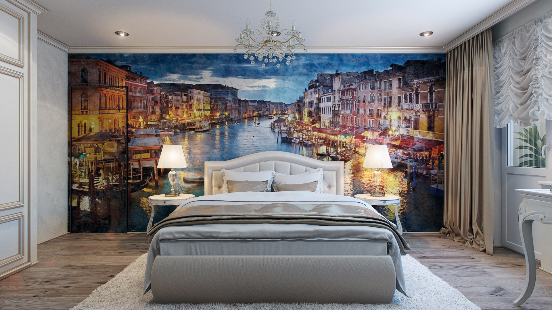 10 decoraciones de dormitorios que te inspiraran for Murales de pared para dormitorios