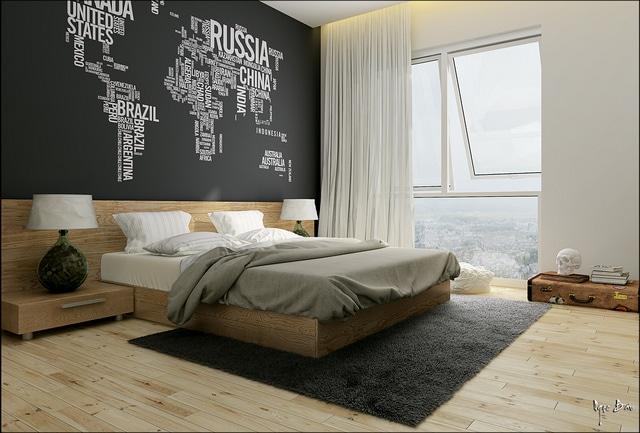 10 decoraciones de dormitorios que te inspiraran - Decoracion de paredes para dormitorios ...