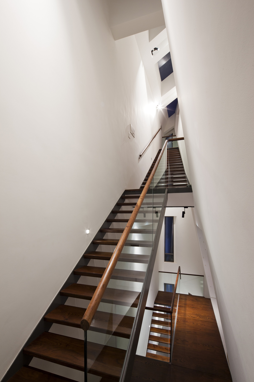 diseo de escaleras casa tres pisos