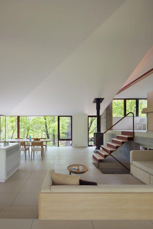 Dise O De Casa De Campo Moderna Construida En Concreto