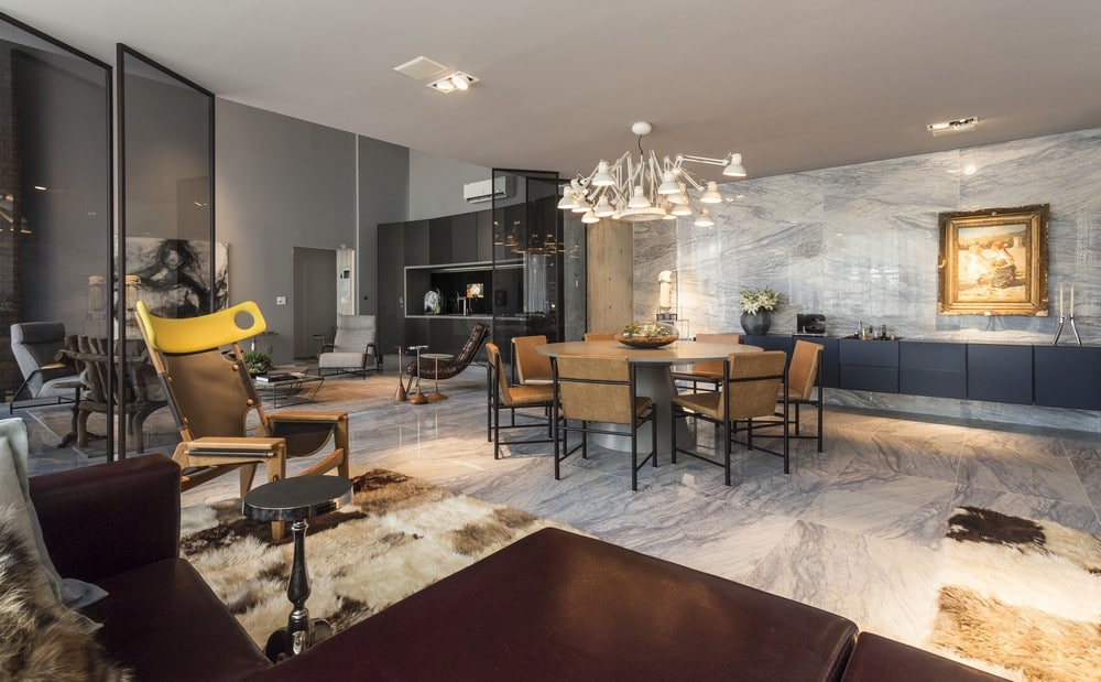 Dise o de apartamento tipo loft moderna decoraci n for Decoracion de loft pequenos