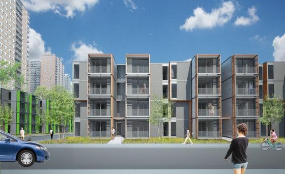 Edificios modulares económicos
