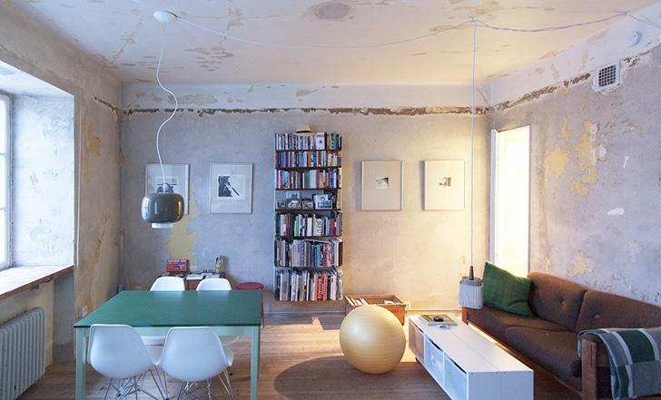Cortinas De Baño Karin Cohen:Small Apartment Living Room Storage
