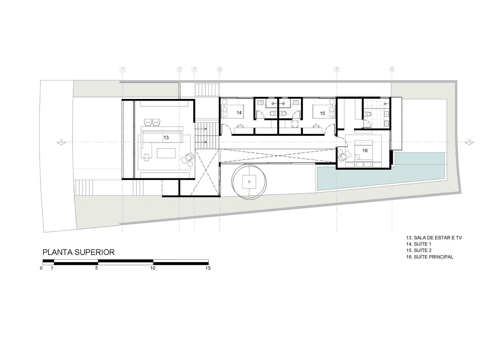 Dise o de moderna casa de dos pisos con fachada y planos - Planos casas modernas 1 piso ...