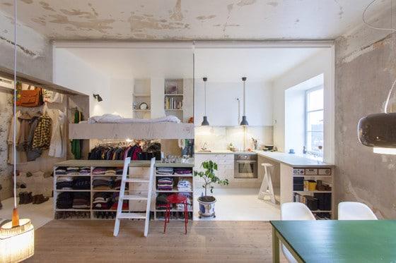 Restauración de pequeño apartamento