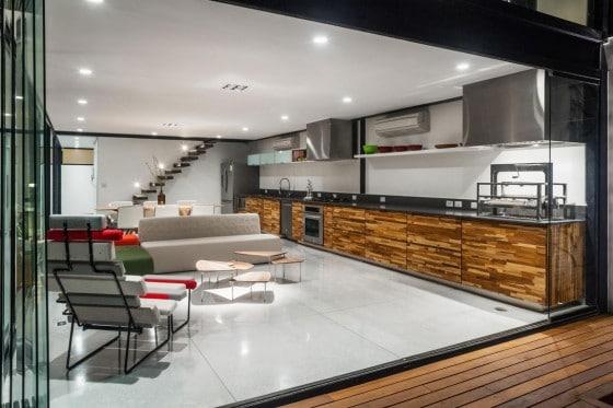 Diseño de casa larga y angosta con planos y fachada inlcuida ...