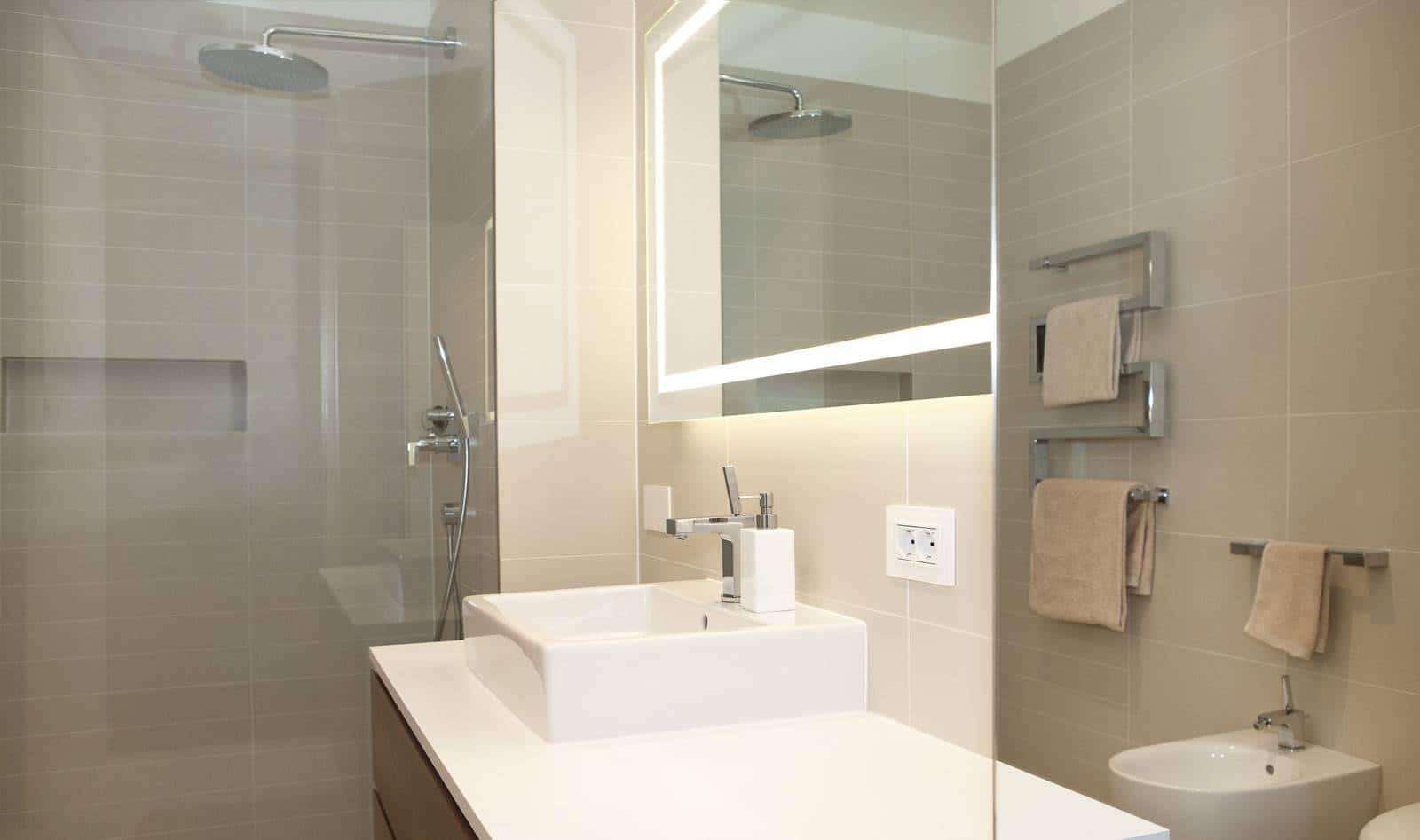 Dise o de planos de apartamento e interior construye hogar for Banos modernos para apartamentos