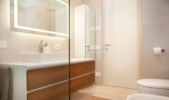 Diseño de cuarto de baño apartamento