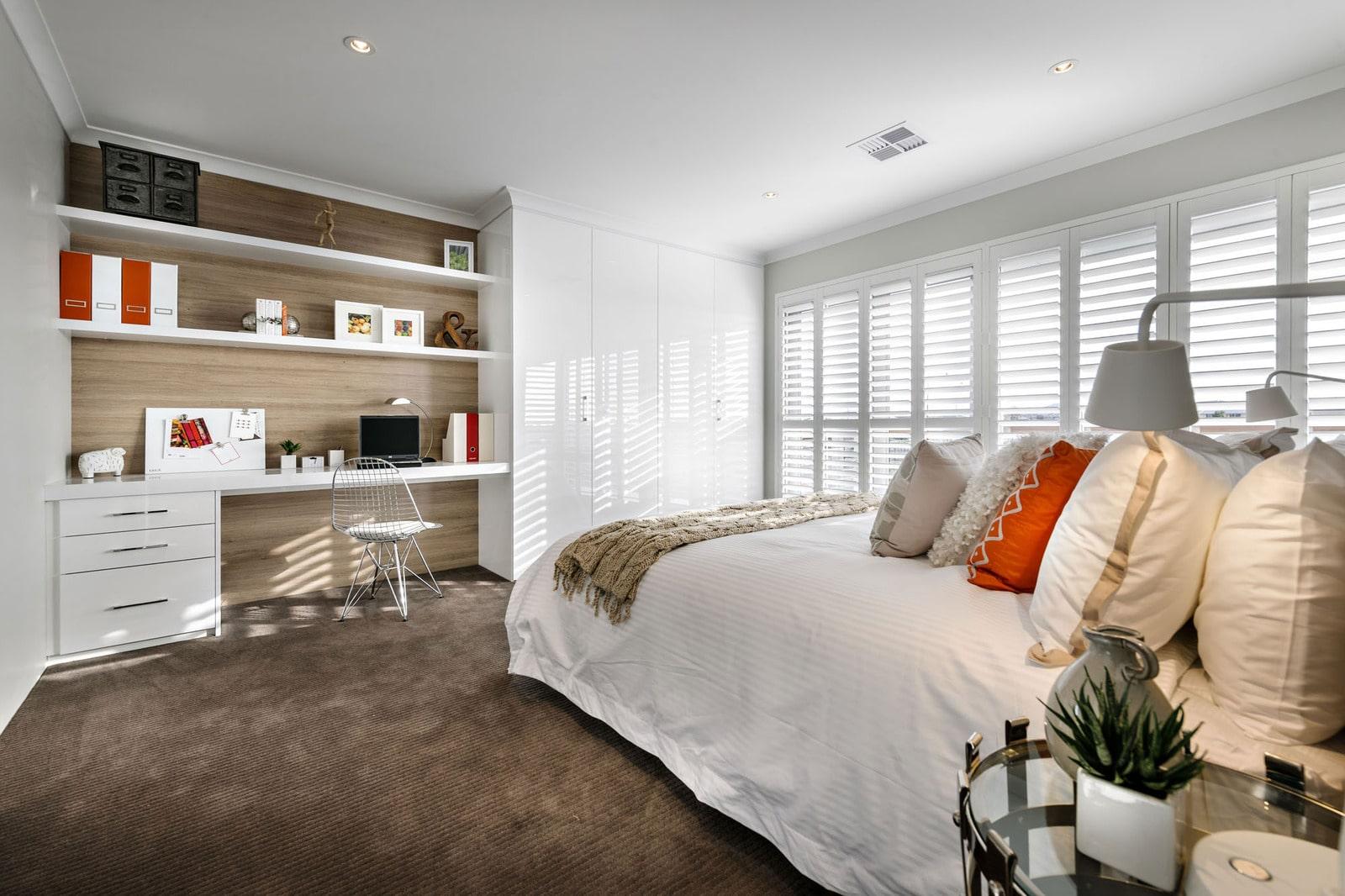Dise o de casa moderna de dos pisos fachada e interiores - Estudios de diseno de interiores ...