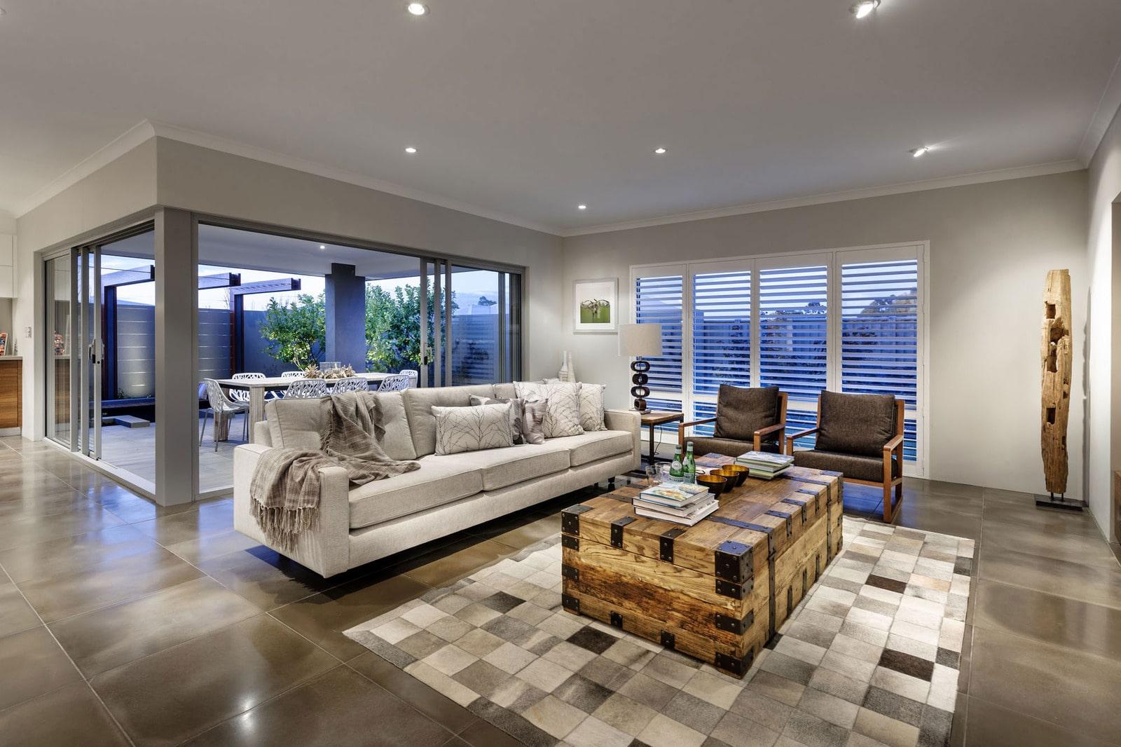 Dise o de casa moderna de dos pisos fachada e interiores - Decoracion interiores modernos ...