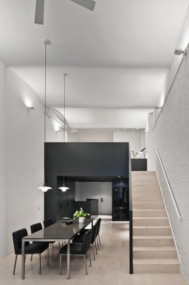 Diseño de loft pequeño