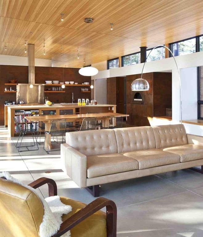 Dise 241 O De Casa Peque 241 A Autosustentable Fachada E Interior Construye Hogar