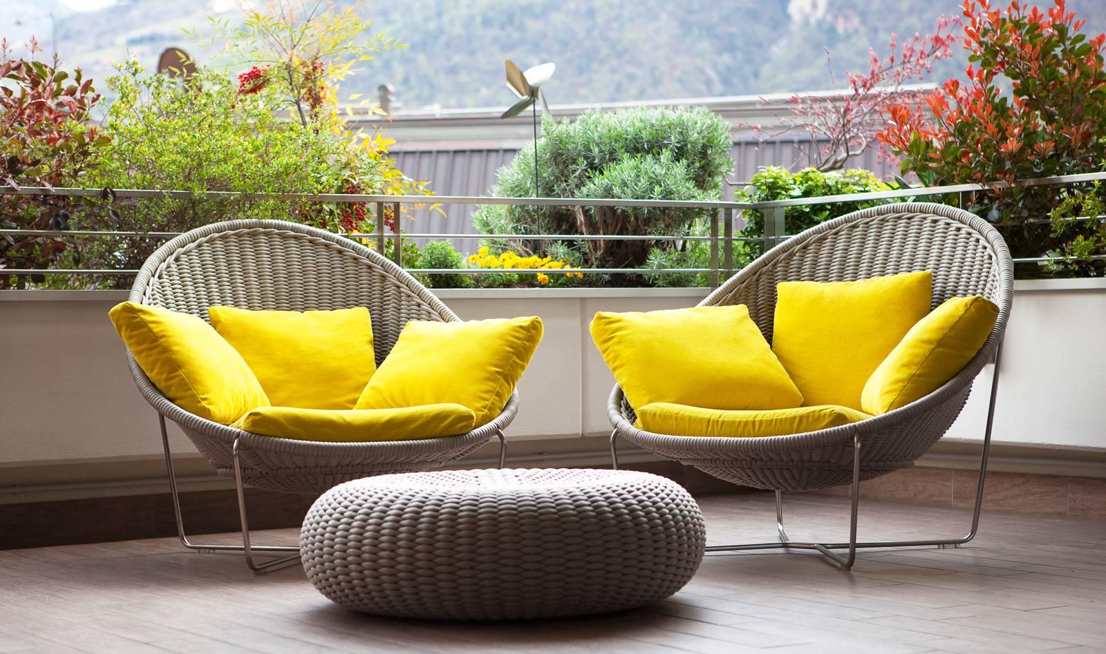 Dise o de planos de apartamento e interior construye hogar for Sillones de terraza