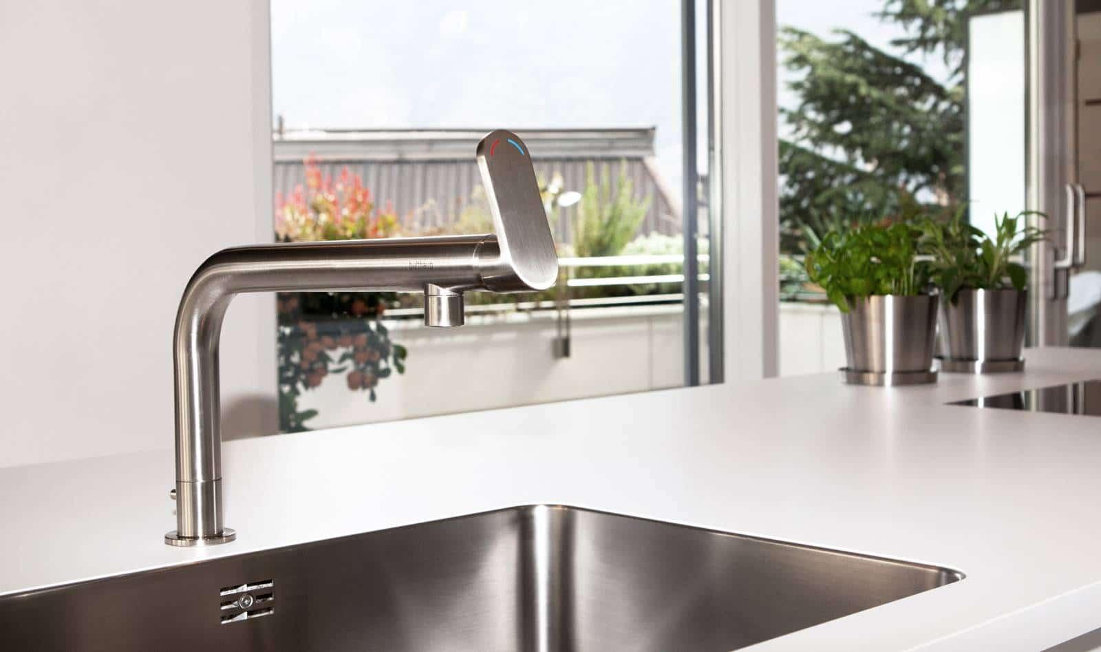Grifer a moderna para cocina construye hogar for Construye hogar