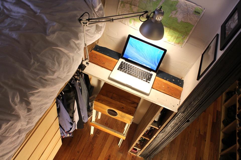 Diseño de apartamento de dos habitaciones, planos e ...