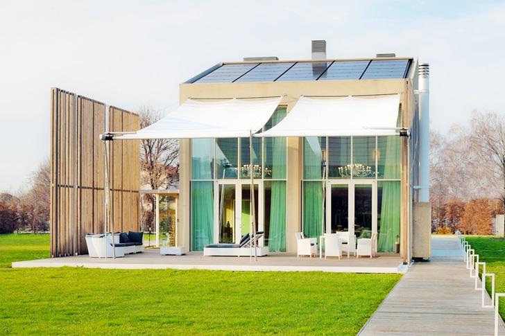 Diseño de casa ecológica [reciclada y uso paneles solares ...