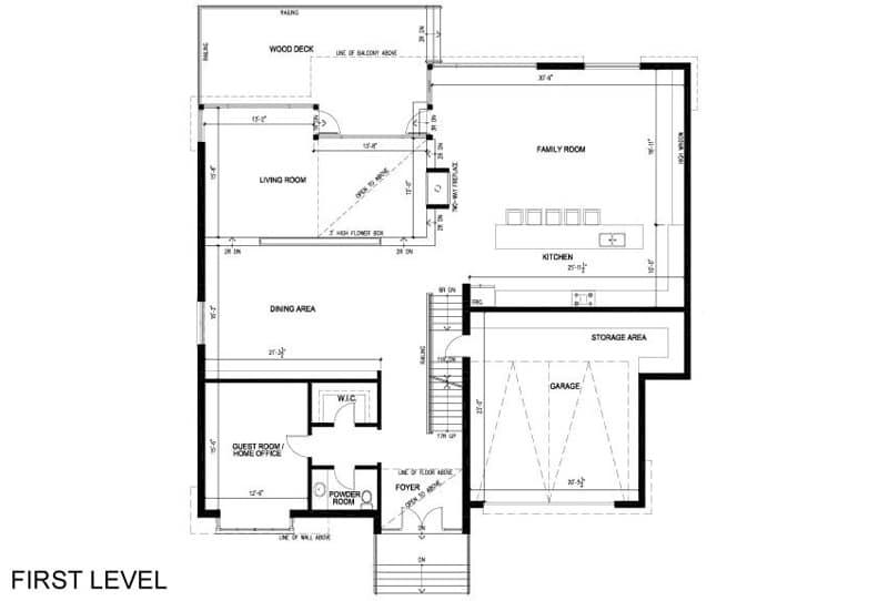 Casa de dos pisos planos y decoraci n construye hogar for Planos de casas de dos pisos