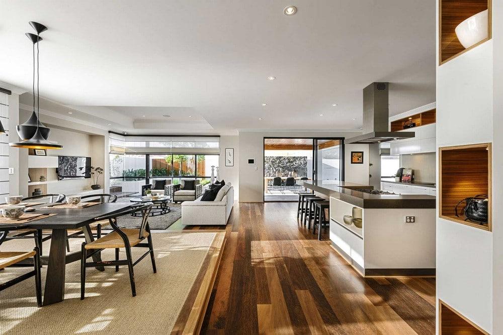 Dise o de casa de un piso estilo oriental con planos - Tom interiores ...