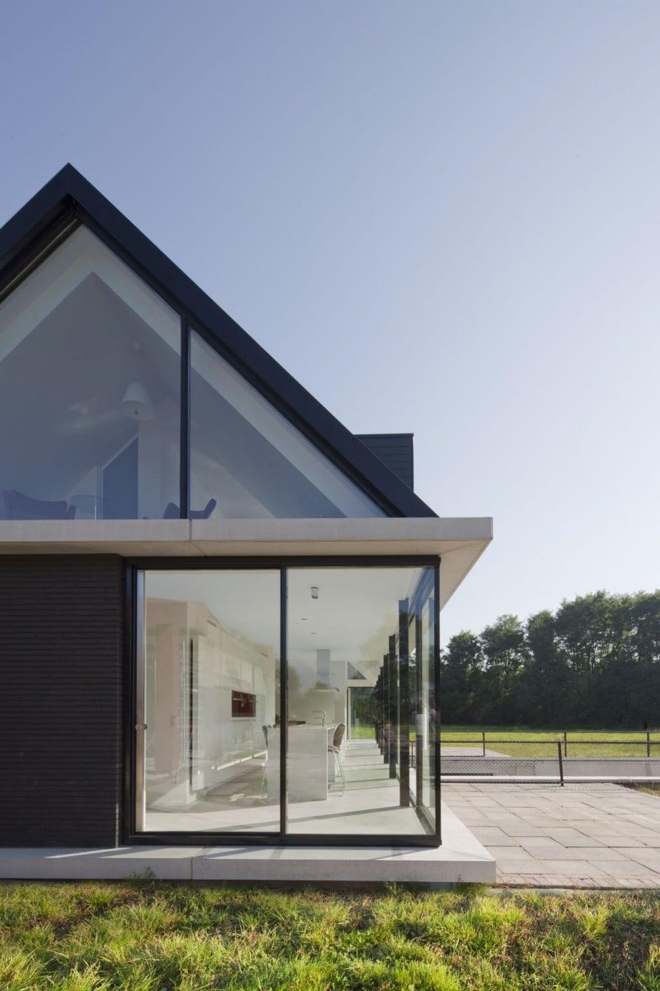 Dise o de casa moderna de una planta construye hogar - Casas con buhardilla ...