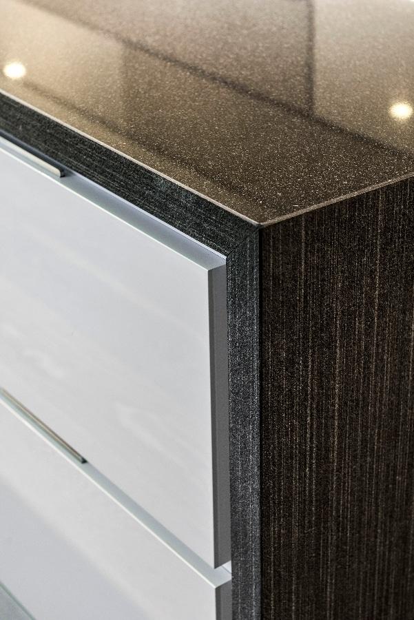 Detalles de dise o de una moderna cocina construye hogar - Interior de muebles de cocina ...