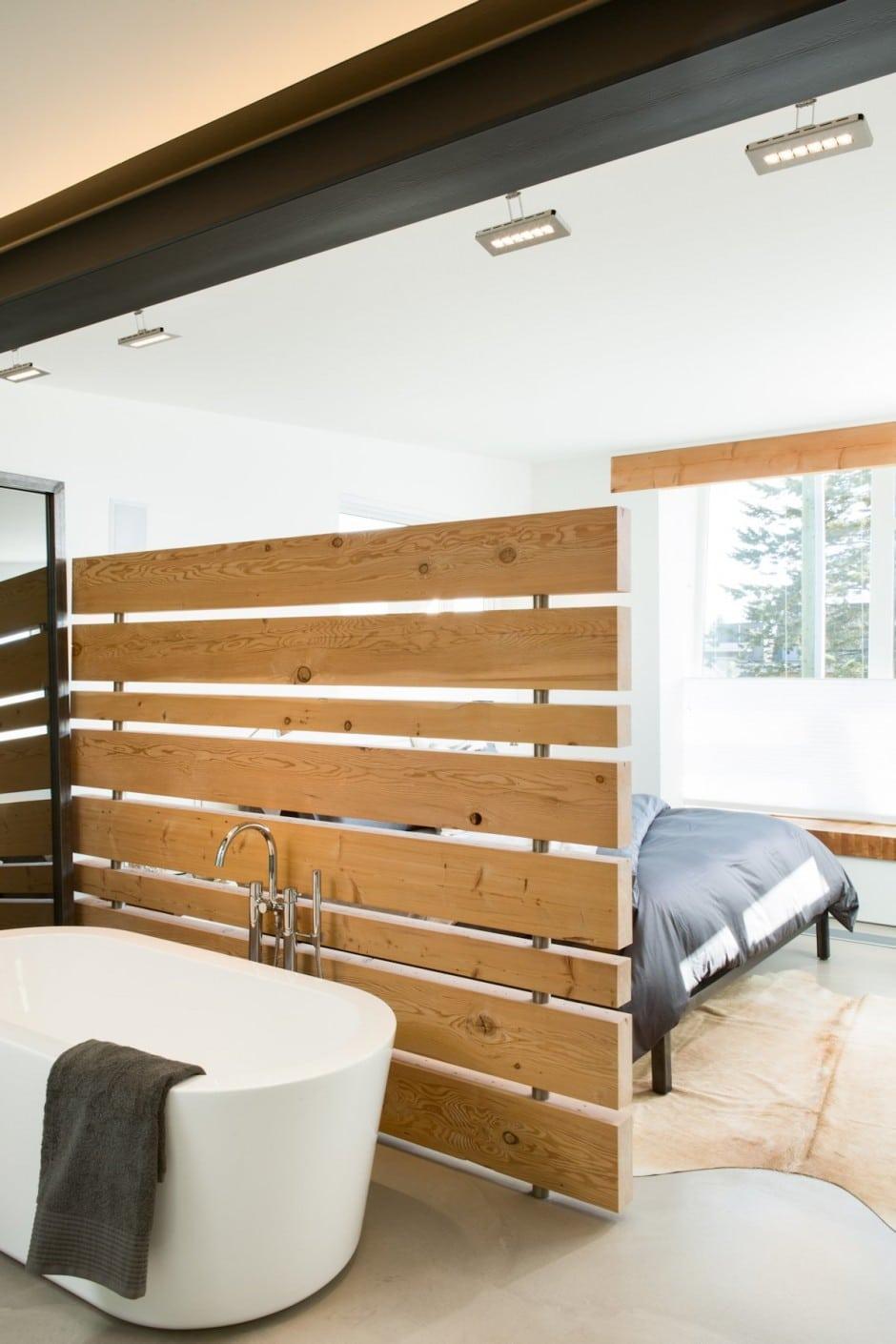 Fachada de casa moderna de dos pisos y dise o de - Disenos de pisos para interiores ...
