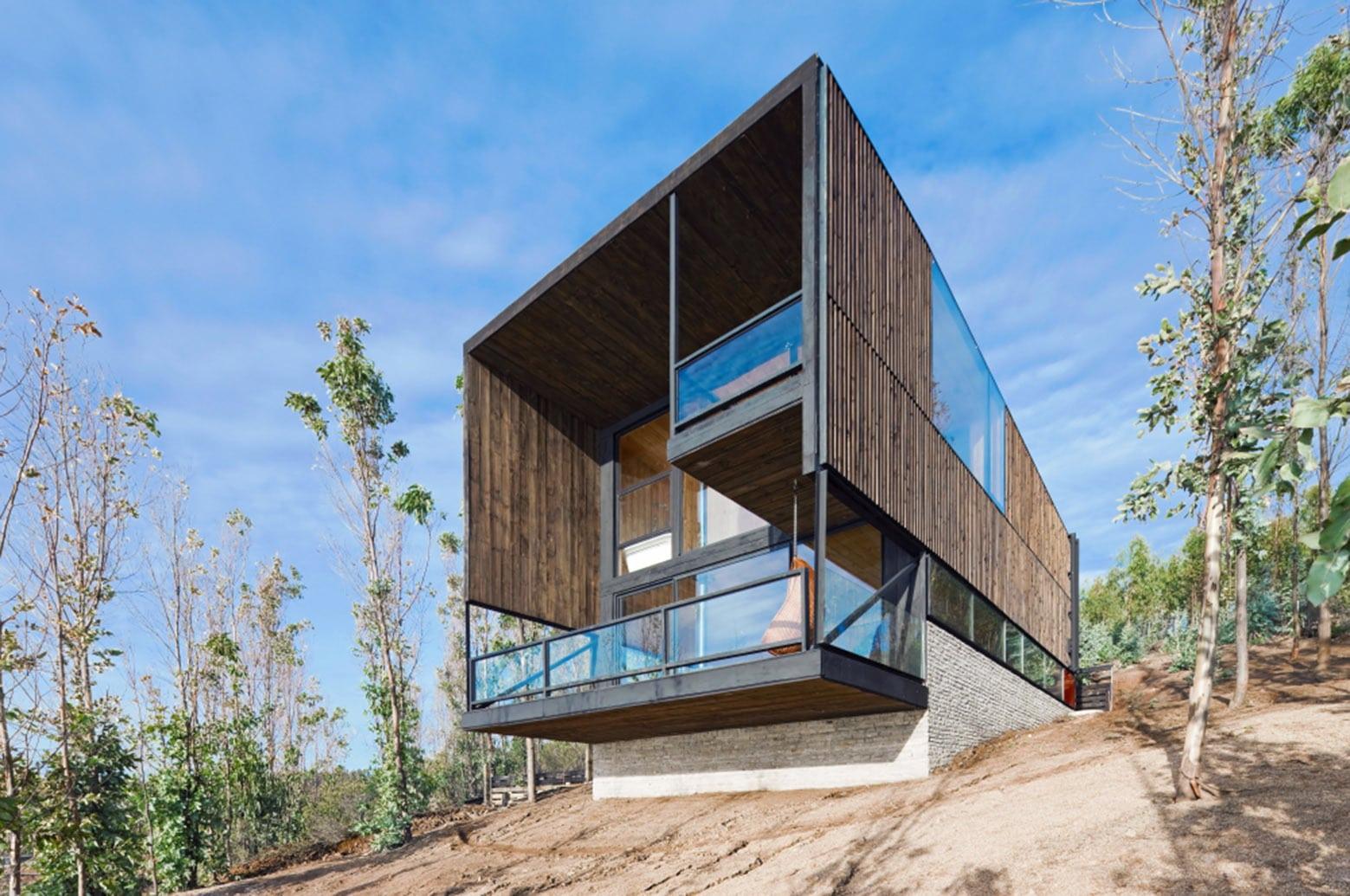 Dise 241 O De Casa Moderna De Dos Pisos Con Planos Construye Hogar