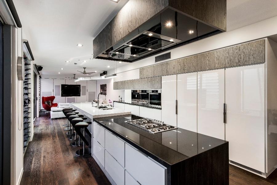 Detalles de dise o de una moderna cocina construye hogar for Cocinas en u modernas
