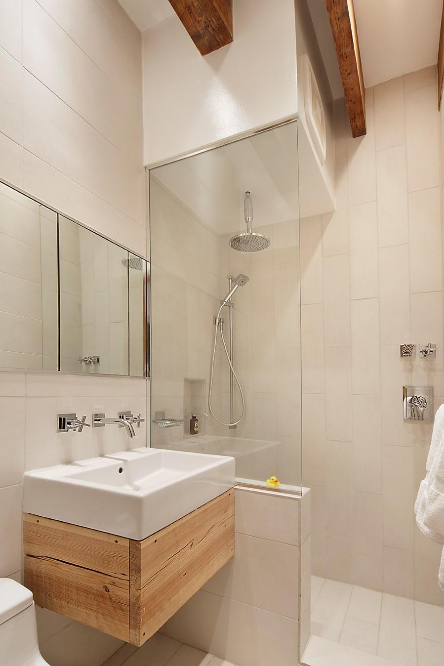 Decoracion De Baños Pequenos Departamentos:Diseño de cuarto de baño de departamento