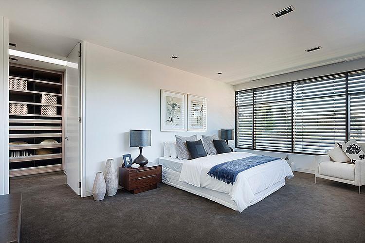 Walk In Closet Pequenos Con Baño:Diseño de dormitorio con walk in closet