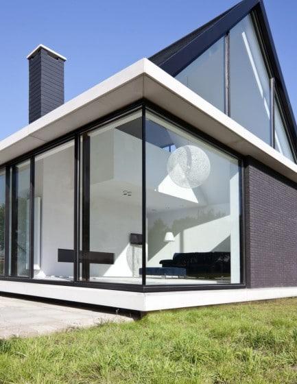 Dise o de casa moderna de una planta construye hogar for Diseno de casas modernas de una planta