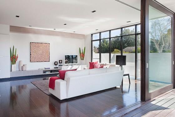 Diseño de sala para ver televisión