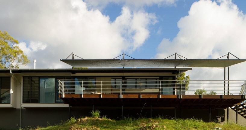 10 dise os de casas de una planta construye hogar for Fachada minimalista una planta