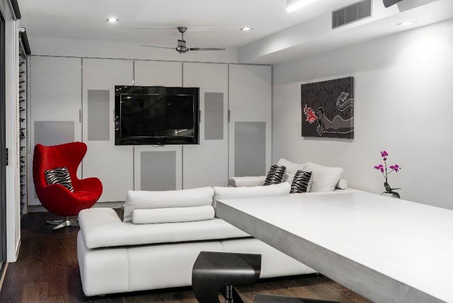 Detalles de dise o de una moderna cocina construye hogar for Sala cocina pequena